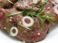 Lamb with rosemary